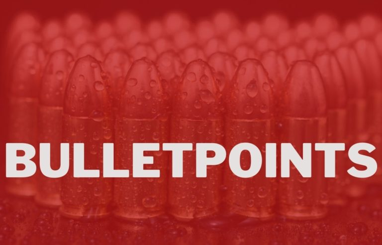 When Should You Use Bullet Points?