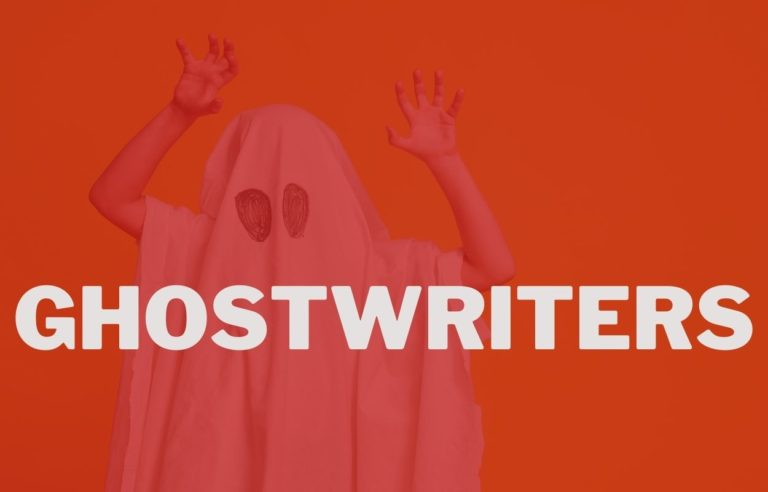 What are ghostwriters and how does it work?